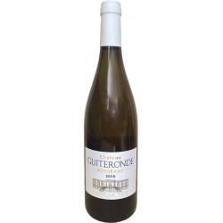 """Guiteronde Blanc """"Fût de chêne"""" - AOC Bordeaux - Conversion AB"""